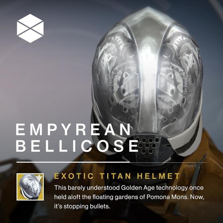 Destiny: Empireo Bellicoso e Cimiero del Lupo Alfa  in vendita da Xur nel weekend del 25 marzo