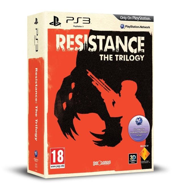 Amazon svela la Resistance Trilogy Collection