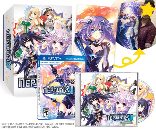 Hyperdimension Neptunia U avrà una limited edition