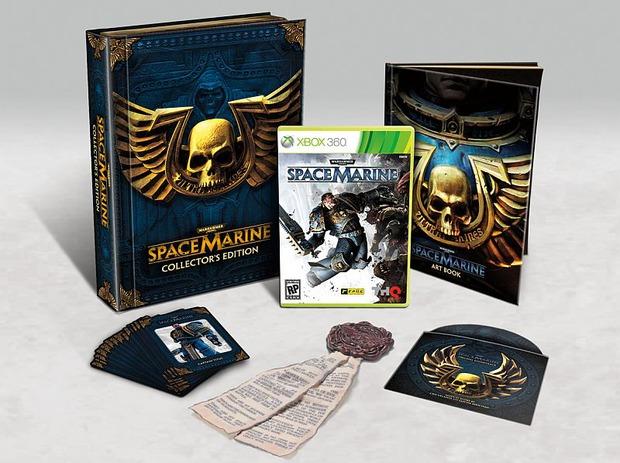 Warhammer 40.000: Space Marine: annunciata la Collector's Edition negli USA