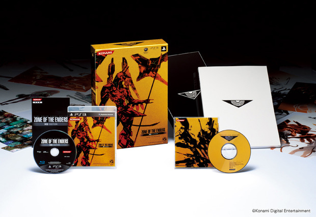 Data giapponese e special edition per Zone of the Enders HD Collection per Xbox 360 e PS3