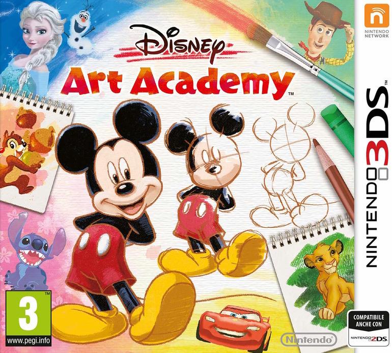 Disney Art Academy: data di uscita europea