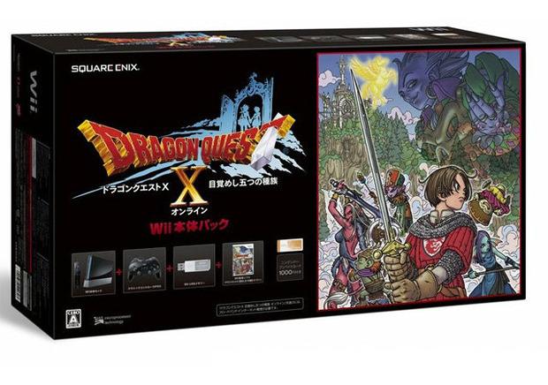 Dragon Quest X: immagine del bundle Nintendo Wii