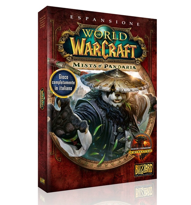 Annunciata la data di uscita di  World of Warcraft: Mists of Pandaria