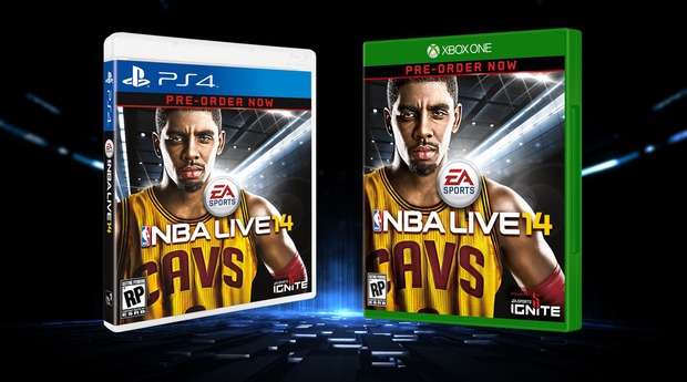 NBA Live 14: Kyrie Irving in copertina