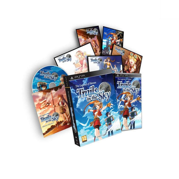 The Legend of Heroes: Trails in the Sky annunciata la Collector's Edition europea