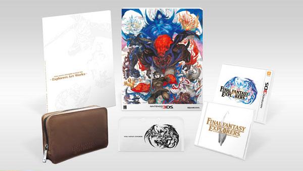 Final Fantasy Explorers: Square Enix presenta la Ultimate Box