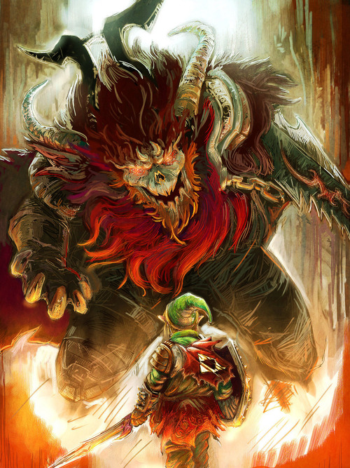 Link of War, quando The Legend of Zelda incontra God of War