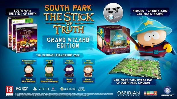 South Park: The Stick of Truth uscirà a Dicembre - annunciata Grand Wizard Edition
