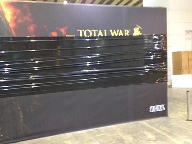 Total War: foto dello stand SEGA all'evento EGX confermano la presentazione di un nuovo episodio