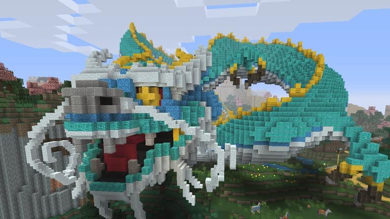 Minecraft: annunciato il Chinese Mythology Mash-Up Pack