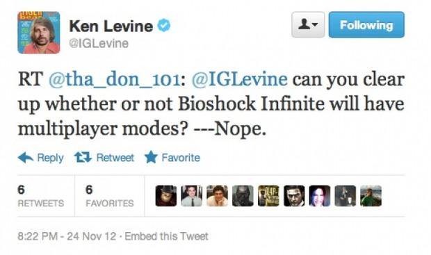 Bioshock: Infinite non avrà il multiplayer