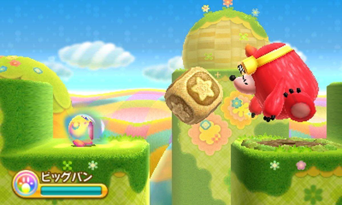 Kirby Triple Deluxe: pubblicati nuovi screenshot