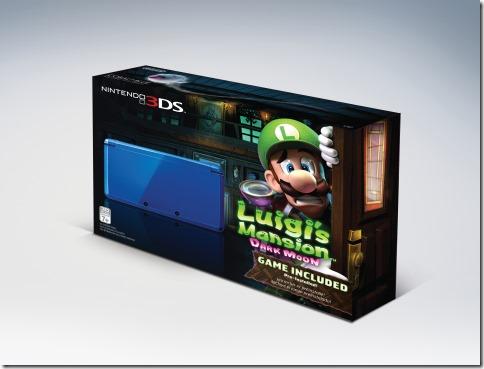 Nintendo 3DS: un Bundle con Luigi's Mansion 2 per il giorno del ringraziamento in USA
