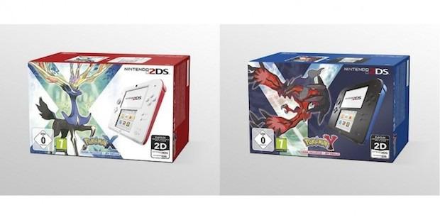 Nintendo 2DS: bundle con Pokemon X e Y in Europa?