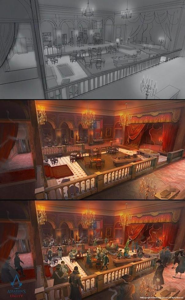 Assassin's Creed Unity: rilasciate nuove concept art