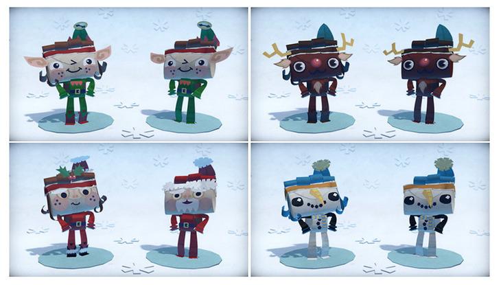 Il Natale arriva in anticipo in Tearaway: Avventure di Carta con il pacchetto costumi a tema