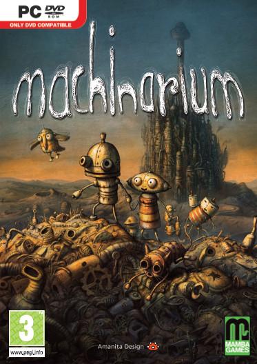 Machinarium: immagini dell'artbook contenuto nella versione Retail