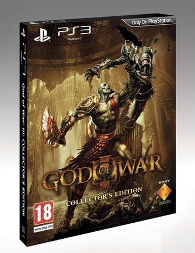 Un distributore mostra una Collector's Edition 'Lite' per God of War 3