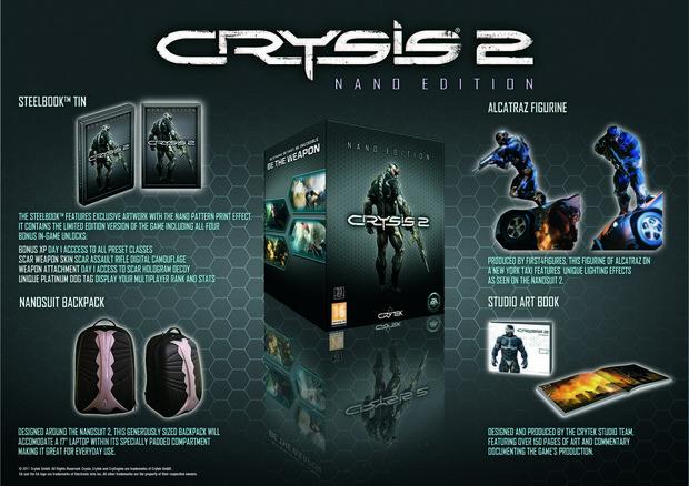 Crysis 2: le immagini e la descrizione della Nano Edition