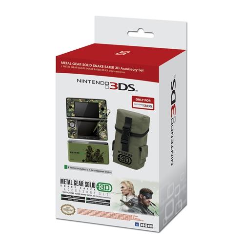 Gli accessori ufficiali di Metal Gear Solid Snake Eater 3D arrivano in Europa