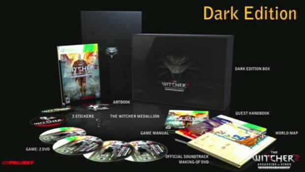 The Witcher 2: su Xbox 360 dal 17 Aprile in versione 'Enhanced Edition' e 'Dark Edition'