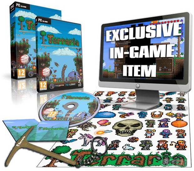 Terraria: annunciata nel Regno Unito una Collector's Edition in formato retail