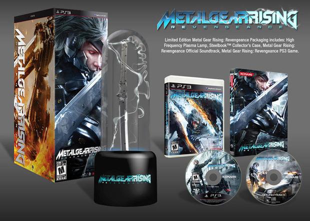 Metal Gear Rising: Revengeance, prima immagine della Limited Edition