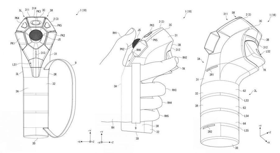 Sony brevetta un nuovo controller per PlayStation VR?
