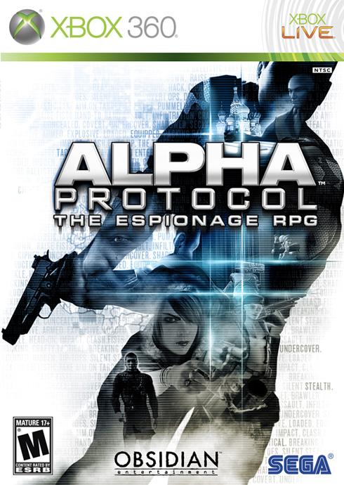 Alpha Protocol mostra la sua Boxart
