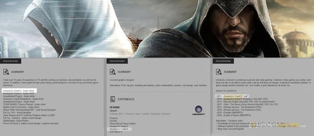 Assassin's Creed 4 compare nei CV di molti sviluppatori Ubisoft