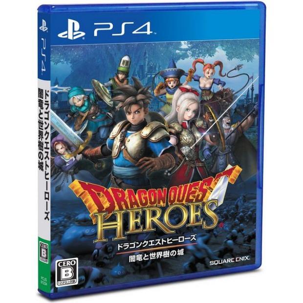 Dragon Questo Heroes disponibile su Play-Asia.com