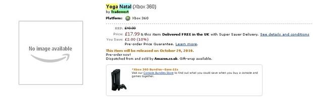 Natal avrà un gioco di Yoga ad Ottobre?