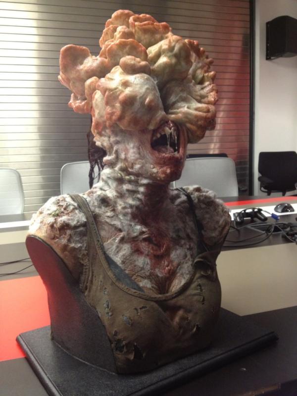 The Last of Us: un modello mostra l'aspetto di un infetto
