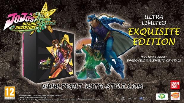 JoJo's Bizarre Adventure: All-Star Battle - annunciata la 'Exquisite Edition' per l'Europa