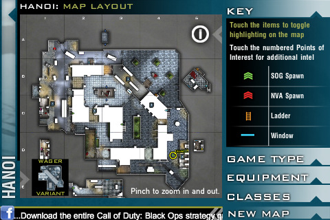 Call of Duty Black Ops: l'App ufficiale delle mappe disponibile per iPhone