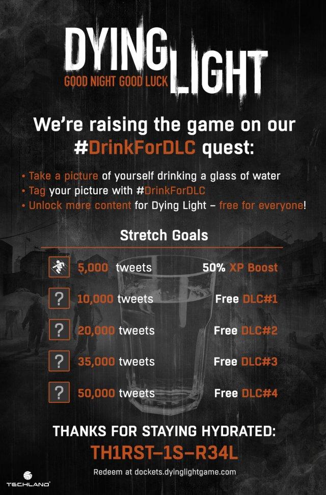 [Aggiornata] Gli sviluppatori di Dying Light ironizzano sull'accordo tra Destiny e Red Bull