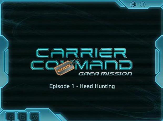 Carrier Command Gaea Mission: una serie di minigiochi in attesa della pubblicazione del gioco