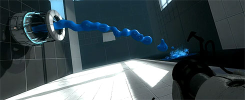Portal 2 presenta il Repulsion Gel