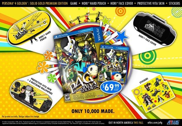 Persona 4 The Golden arriva anche in edizione limitata
