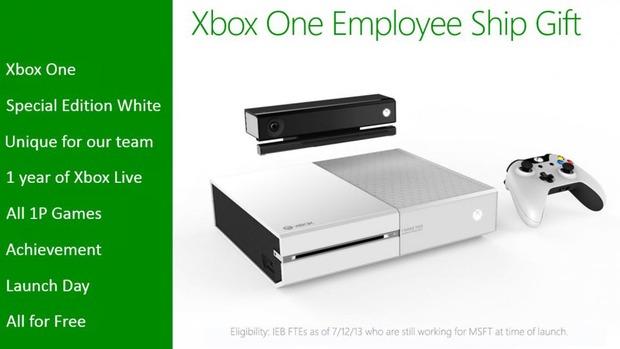 Xbox One: in rete compare la versione bianca, ma è riservata al team di sviluppo