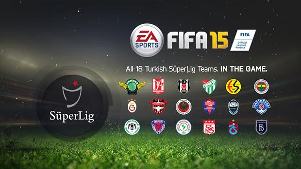 FIFA 15: confermata la presenza del campionato turco