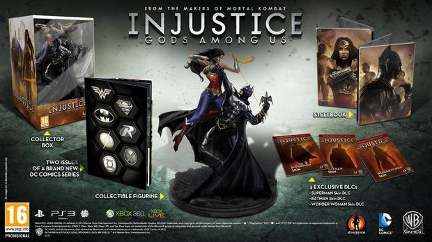 Injustice: Gods Among Us: confermata la Collector's Edition