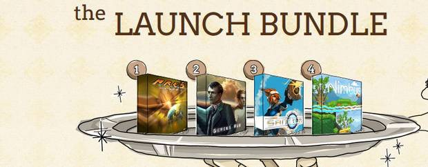 Indie Royale presenta the Launch Bundle