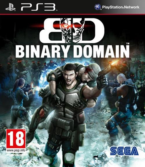 Binary Domain: la boxart ufficiale