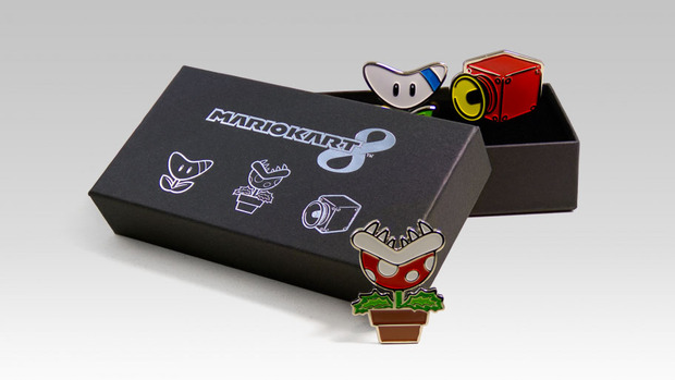 Mario Kart 8: aggiunto un set di tre spille nel catalogo del Club Nintendo