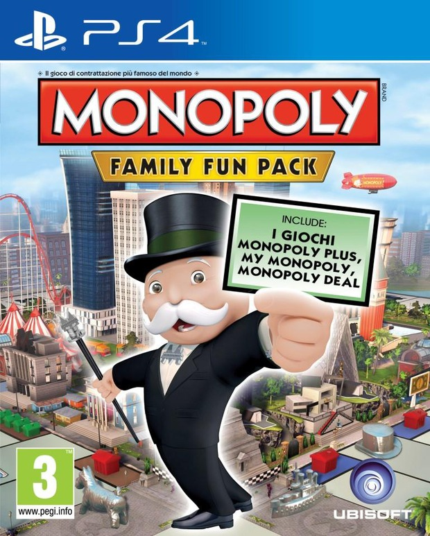 Monopoly disponibile su Xbox One, Xbox 360, PS3 e PS4