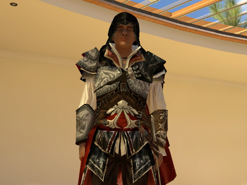 Il nuovo costume di Ezio di Assassin's Creed 2 su PlayStation Home