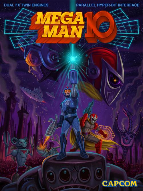 Capcom mostra la cover di Mega Man 10