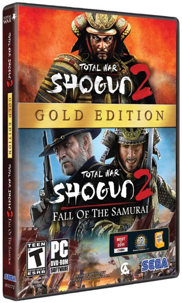 Total War: Shogun 2 - art box della Gold Edition